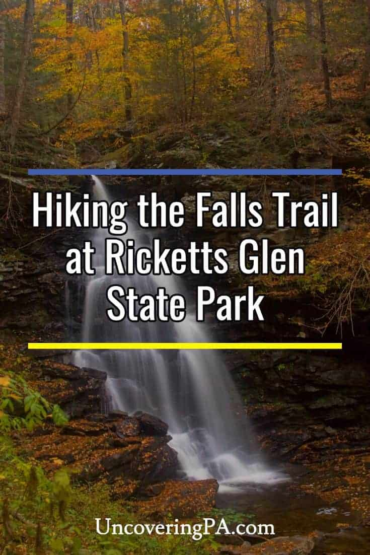 Tips for hiking the Falls Trail at Ricketts Glen State Park in Pennsylvania