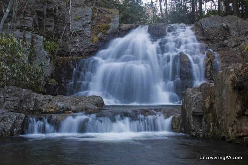 How to Get to Hawk Falls in Hickory Run State Park, Carbon County, PA