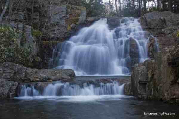Hawk Falls is perfect for those looking for waterfalls near Philly.
