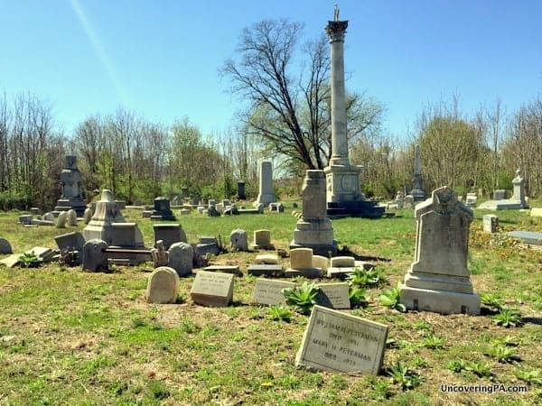 Visiting Mount Moriah Cemetery in Philadelphia, PA