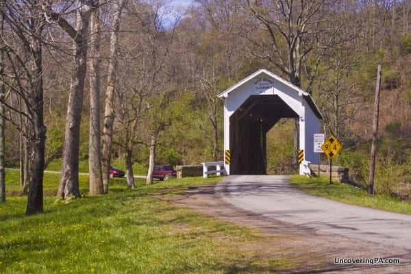 How to get to White Covered Bridge in Greene County, PA.