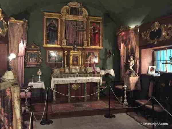 Places to see in Pennsylvania before you die: Columbus Chapel and Boal Mansion