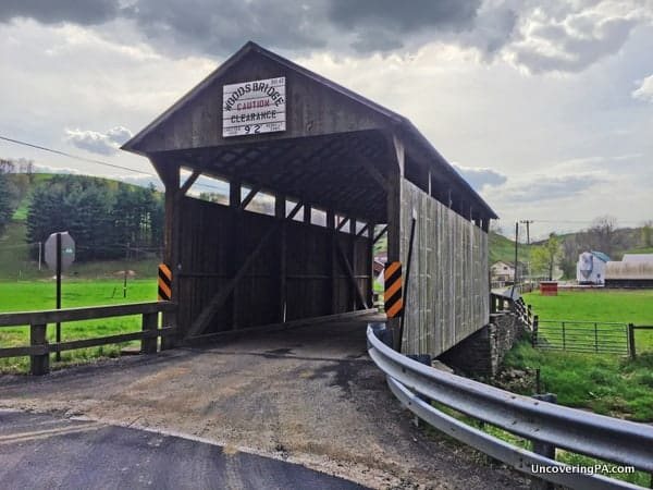 How to get to Neddie Woods Covered Bridge in Greene County PA