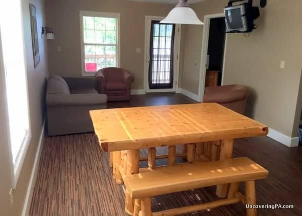 Review of my villa at Lake Raystown Resort in Huntingdon County, PA