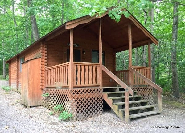 Pine Cabins at Lake Raystown Resort in Pennsylvania