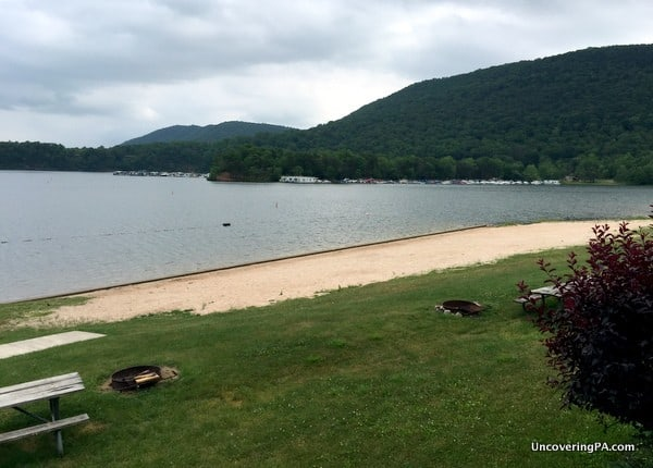 Lake Raystown Resort Beach