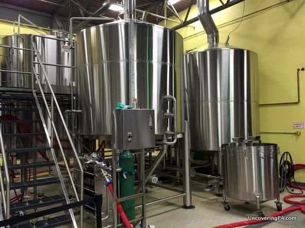 Touring Weyerbacher Brewing Company