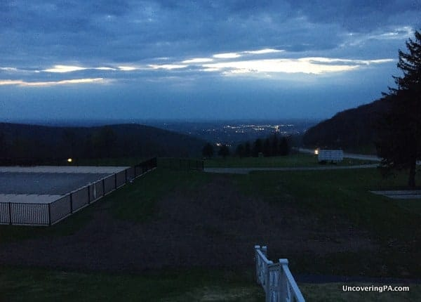 View from the Historic Summit Inn in Pennsylvania's Laurel Highlands