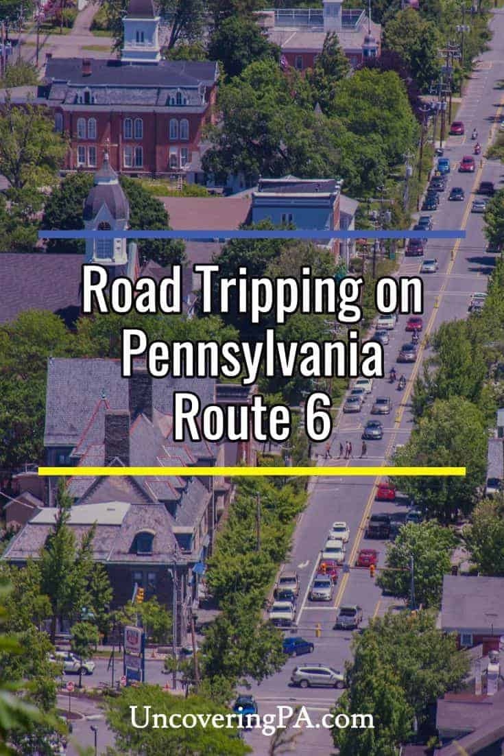 Road tripping on Pennsylvania Route 6 across northern PA. #roadtrip #family #pennsylvania #Route6