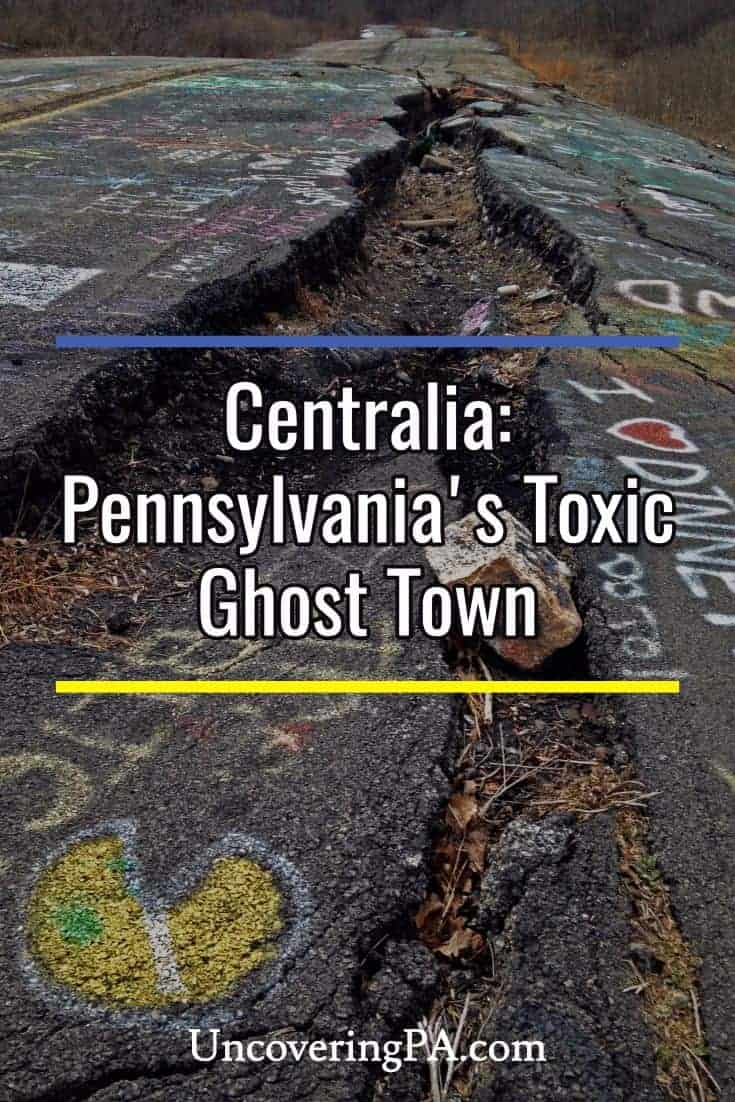 Centralia: Pennsylvania's Toxic Ghost Town #abandoned #urbex #travel
