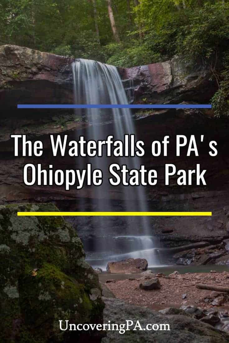 The waterfalls of Ohiopyle State Park in Pennsylvania's Laurel Highlands. #laurelhighlands #statepark #pennsylvania