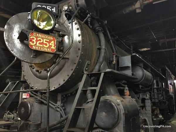 Visiting Steamtown National Historic Site In Scranton To