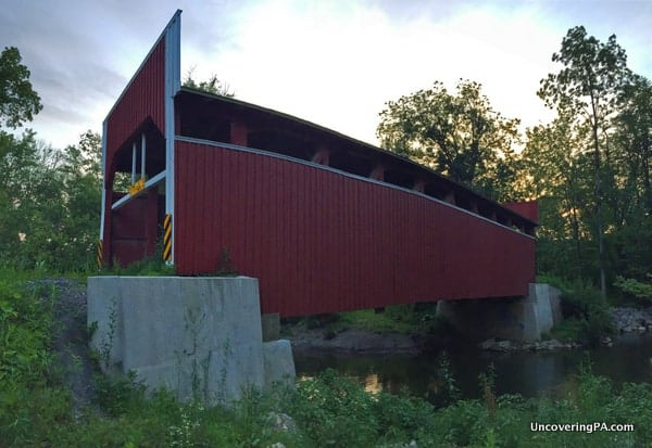 How to get to Keefer Mills Covered Bridge in Montour County, Pennsylvania