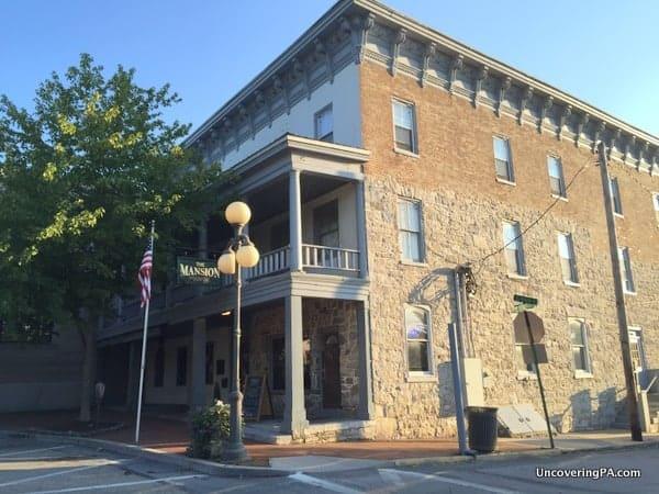 Mansion House Mercersburg PA