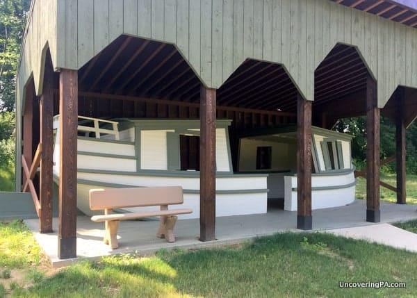 Muncy Heritage Park Canal Boat in Muncy PA