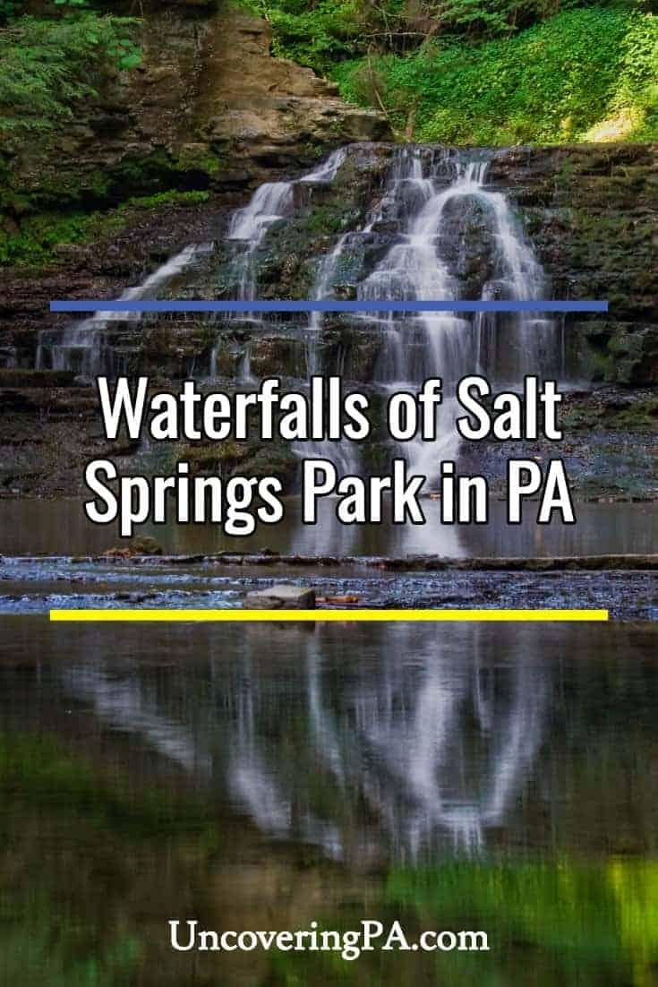 Pennsylvania Waterfalls: The Falls of Salt Springs State Park