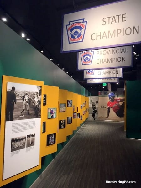 Visiting the World of Little League Museum in Williamsport PA