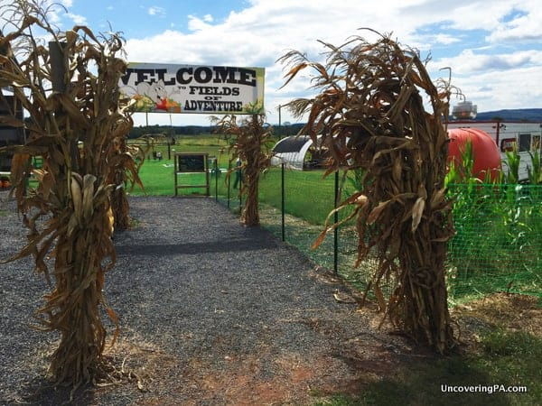 Fields of Adventure is one of the best fall festivals in PA.