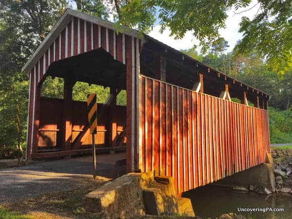 How to get to Himmels Church Covered Bridge in Northumberland County PA
