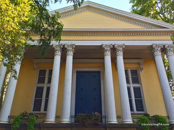 Old Pine Street Presbyterian Church Philly
