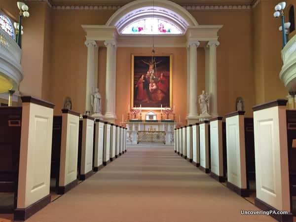 Visiting Old Saint Joseph National Shrine Philly