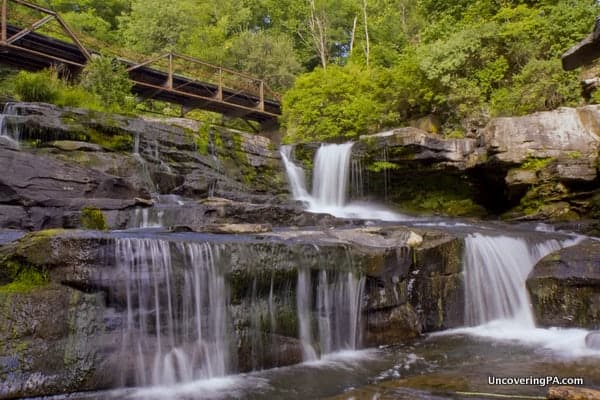 Pocono Mountains Waterfalls: Tanners Falls