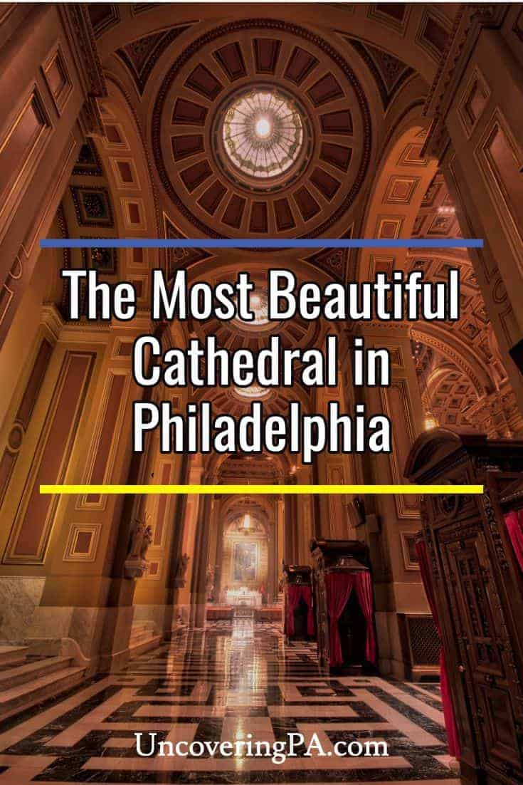 Inside the Beautiful Cathedral Basilica of Saints Peter and Paul in Philadelphia, Pennsylvania