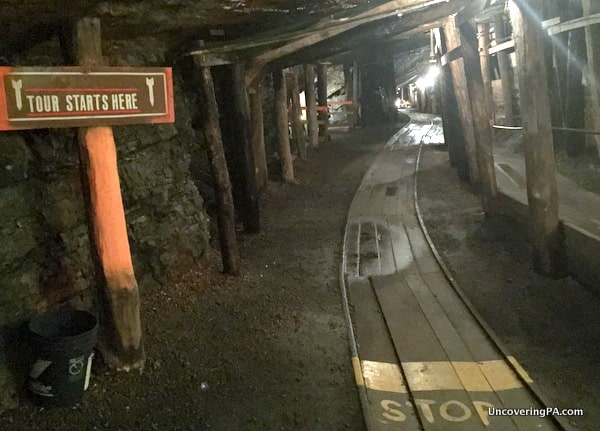 Inside the Lackawanna Coal Mine in Scranton PA