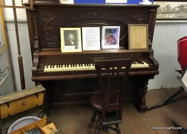 John Philip Sousa Piano Little Beaver Historical Society