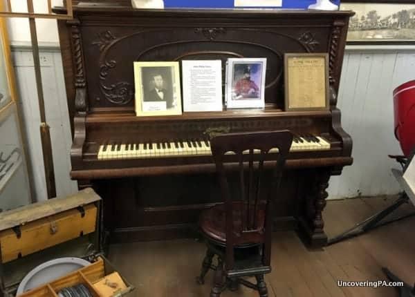 John Philip Sousa Piano Little Beaver Historical Society