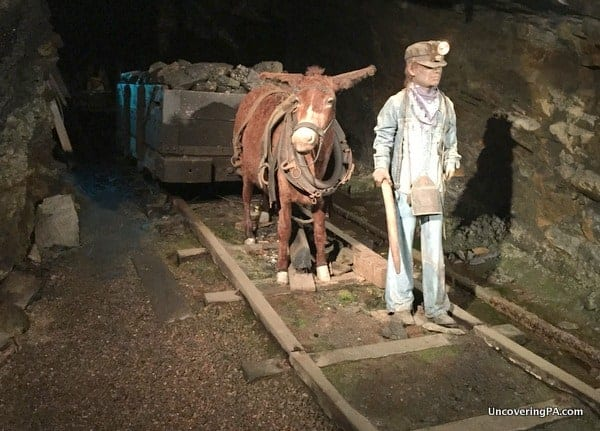 Lackawanna County Coal Mine Diorama