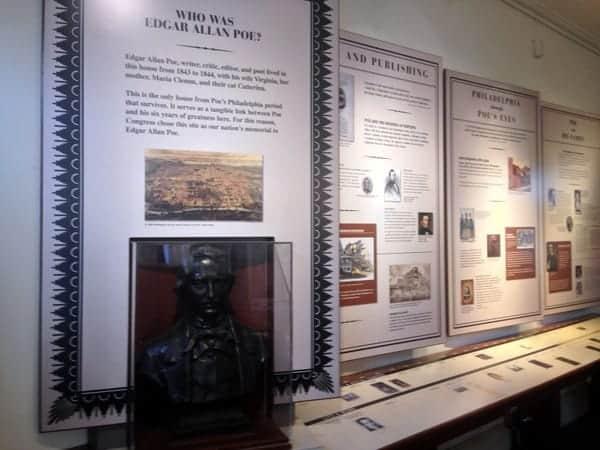 Museum at the Edgar Allan Poe National Historic Site, Philadelphia, Pennsylvania