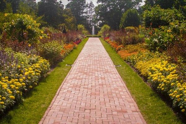 Flower Garden At Longwood Gardens In Chester County, Pennsylvania