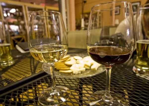 Hauser Estate Winery in downtown Gettysburg, Pennsylvania.