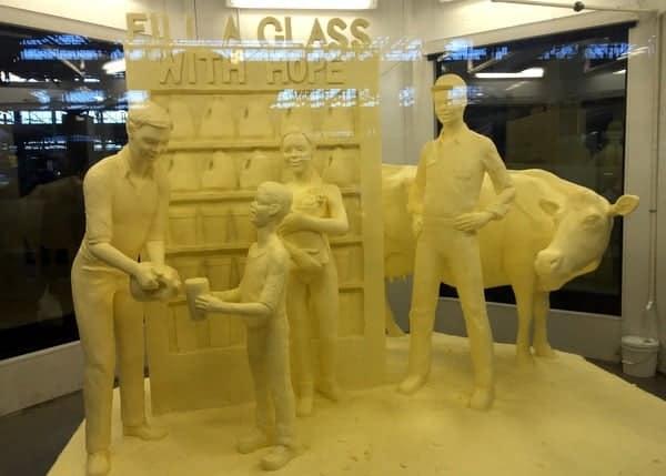 The Pennsylvania Farm Show Butter Sculpture