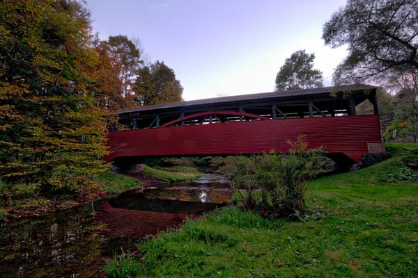 Cogan House Covered Bridge in Lycoming County, Pennsylvania