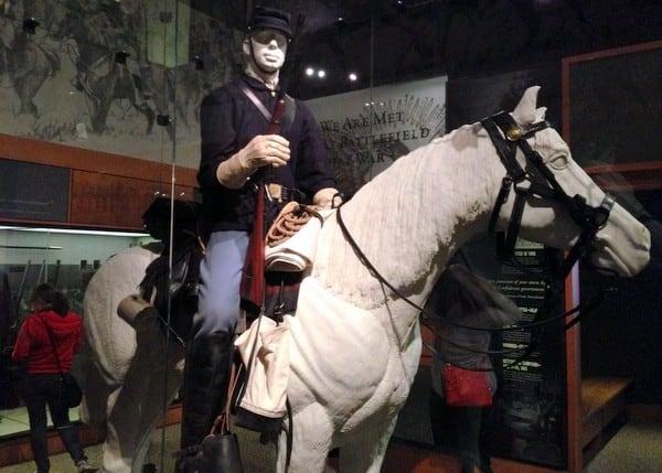 Diorama at Gettysburg Museum of the Civil War in Gettysburg, PA