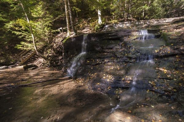 Hell's Hollow Falls in McConnells Mill State Park, Pennsylvania