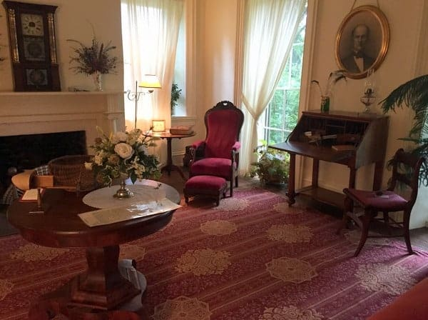 Founder's Room in Centre Furnace Mansion in State College, Pennsylvania