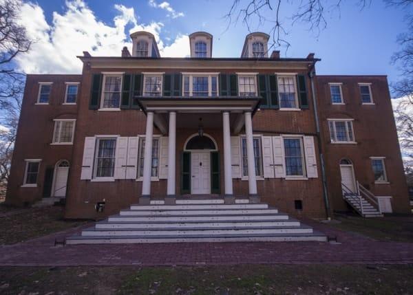 Wheatland, James Buchanan's home in Lancaster, Pennsylvania.