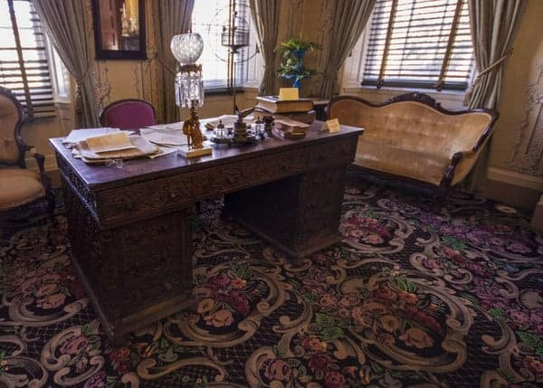 James Buchanan Desk at Wheatland in Lancaster County, Pennsylvania