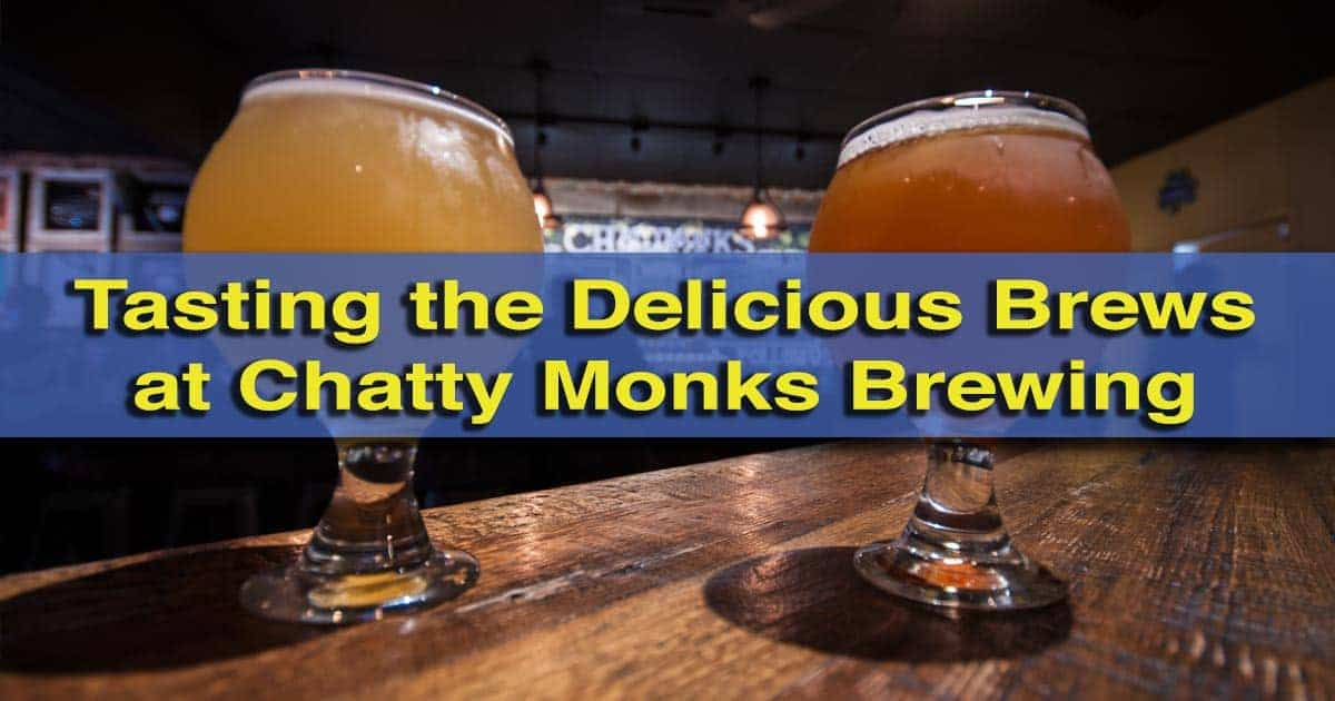 Visiting Chatty Monks Brewing in West Reading, Pennsylvania