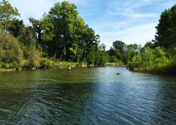 Elk Creek in Erie Bluffs State Park, Pennsylvania.