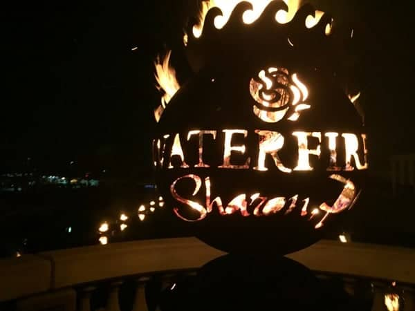 Things to do in Pennsylvania in August: WaterFire in Sharon, Pennsylvania