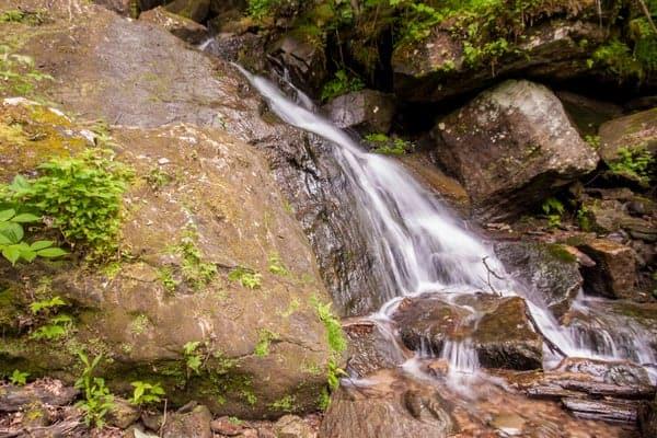 How to get to Bent Run Falls in Warren County, Pennsylvania.