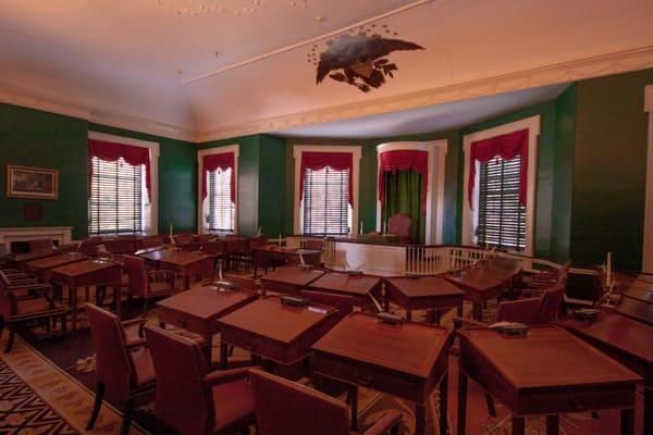 Senate in Congress Hall in Philadelphia, PA