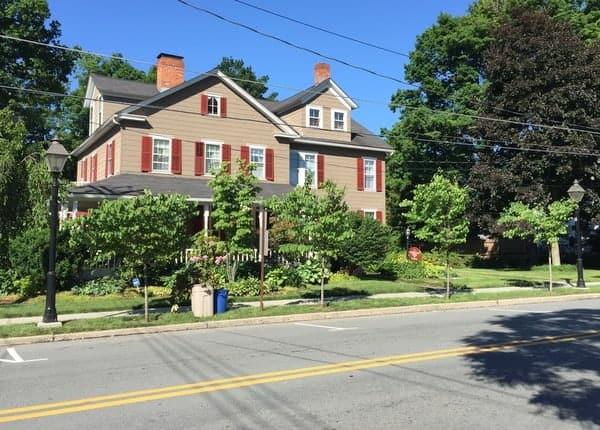 Harrington House in Milford, Pennsylvania