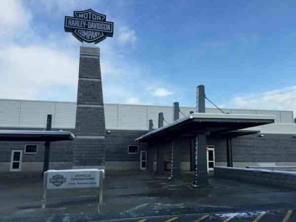 Harley Davidson Tour Center in York, Pennsylvania.