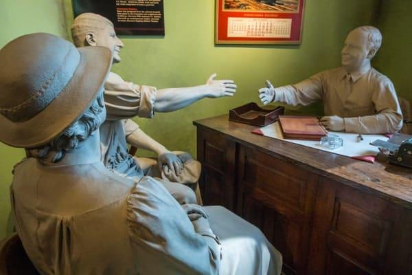 Diorama at the Railroaders Memorial Museum in Altoona, PA.