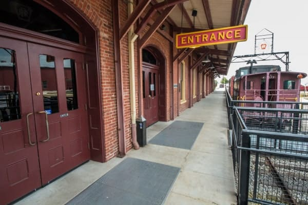 The Railroaders Memorial Museum in Altoona, Pennsylvania